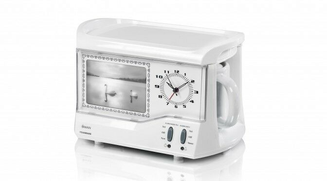 swan teasmade STM202N with clock and digital photo frame | in ...