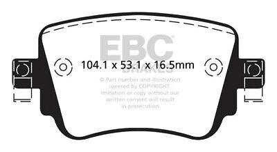 EBC Ultimax Rear Brake Pads for Audi Q3 2.0 TD (140 BHP) (2015 on)