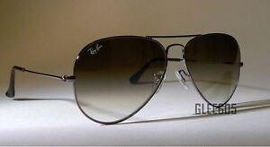 Ray-Ban-3025-RB3025-004-51-Gunmetal-Aviator-Brown-Gradient-Sunglasses