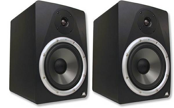 M Audio BX8 Professional Studio Monitors   New