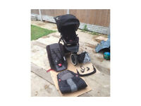 Phil & Teds Navigator Double Buggy Pushchair + Extras