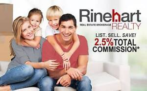 LIST. SELL. SAVE. 2.5% TOTAL COMMISSION