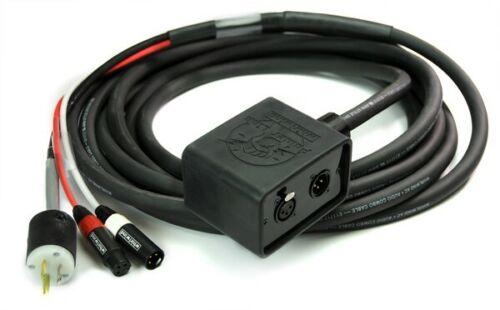 Whirlwind APC3 Powerlink Combo Snake AC to XLR 25ft Fan to Box DJ Drop Snake