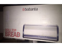Brabantia Roll Top Matt Steel Bread Bin.. new