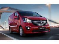 2017 Vauxhall Vivaro 2900 Sport CDTI BT Manual Diesel Panel Van