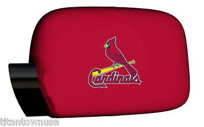 St. Louis Cardinals  Car Mirror Covers  (NIB) (Cardinal Mirror)