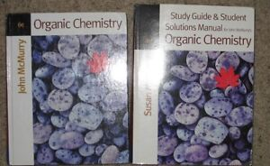 Organic Chemistry and Study Guide - McMurry