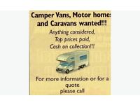 🚐🚙 CAMPERS MOTORHOMES CARS 4x4 VANS WANTED 🚐🚘📞📞CALL NOW