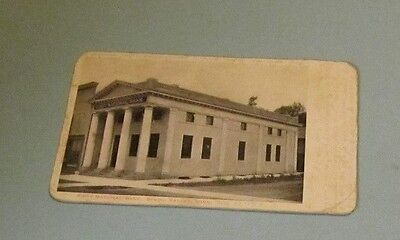 1906 First National Bank Spring Valley Minnesota Rppc Real Photo Postcard