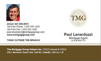 Mortgages, Conventional, Non Conventional and Private