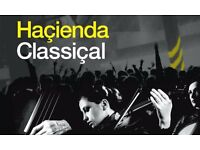 2 x Hacienda Classical Tickets for Manchester on 1 July