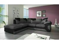 SPECIAL PRICE - DINO JUMBO CORD CORNER OR 3+2 SOFA SET -CONTACT US FOR DELIVERY