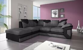 BRAND NEW LARGE DINO CORNER SOFA SET OR 3+2 SEATER SOFA SET!!!! (SPECIAL OFFER
