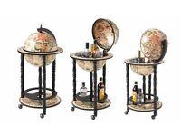 BRAND NEW BOXED Bar Globe Drinks Cabinet Antique Vintage SALE