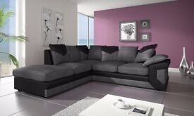 CHEAPEST EVER PRICE- brand new DINO Jumbo Cord corner or 3 and 2 setaer sofa set in different colors