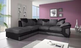 DINO ITALIAN JUMBO CORD 3+2 SEATER SOFA SET - BRAND NEW SAME DAY DELIVERY