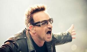 U2 Tickets Vancouver 1, 2, 3 or 4 GA Floors $350 each Must meet at the gate day of show Credit Card Holder Entry Only