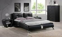 KING SIZE MODERN BLACK BED BRAND NEW Canning Vale Canning Area Preview