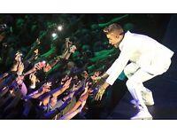 Justin Bieber Tickets! O2 Arena October £200
