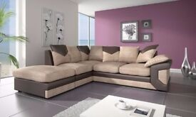 DINO CORNER SOFA JUMBO CORD + PVC *AVAILABLE IN DIFFERENT COLOURS* *BRAND NEW*