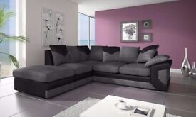 Order now Limited offer Jumbo Cord Dino Corner Sofa Brand New Order Now = We Do Same Day Delivery