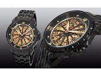 Pionier London Diamond Watch.Made in Germany.Automatic analog movement 20 stones