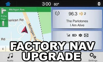 SYNC 3 Factory Navigation Upgrade Kit - Genuine Ford OEM GPS Programmed Nav APIM