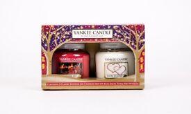 Medium Yankee candle gift set