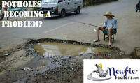 Newfie Sealers-Free Estimates-Lot-Maintenance-Asphalt Specialist