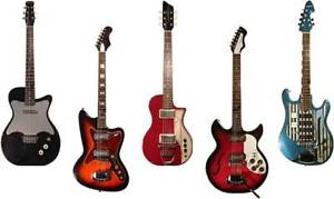 Wanted Vintage USA guitars - Fender Gibson
