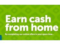 [ Student Jobs ] Work From Home UK - EARN CASH UP TO £300