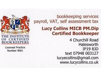 Lucy Collins, Bookkeeping Services