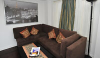 Furnished Townhouse 2-Bedroom Apt with Wifi, Parking,Laundry