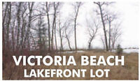 Victoria Beach (Restricted Area) LAKEFRONT Vacant Lot