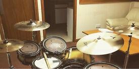 Sabian zildjian cymbals