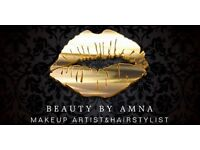 Profesional makeup artist and hair stylist offer £30