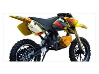 49cc MINI DIRT BIKE brand new
