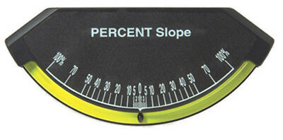 Sun Industrial Lev-o-gage Sr Percent Slope Model. - Glass Tube Inclinometer