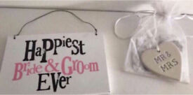 C two brand new wedding gifts