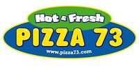 Pizza 73 is hiring F/t & P/T Delivery Drivers