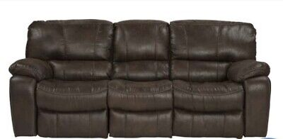 Cindy Crawford Home Alpen Ridge Brown Dual Reclining Sofa Couch - PICKUP ONLY