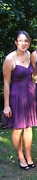 Size 10 - Forever New Silk dress with beautiful beading Wanneroo Wanneroo Area Preview
