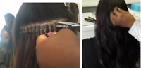 CJs Affordable HAIR EXTENSIONS: Tape-in, Hot Fusion, Micro Beads