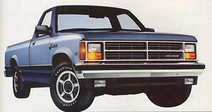 1987-1989 Dodge Dakota wanted to buy