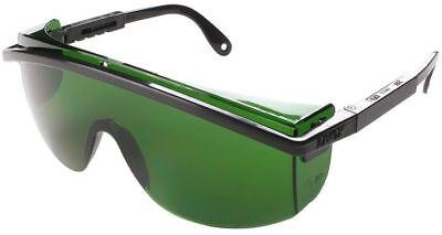 Uvex Astrospec 3000 Safety Glasses Black Frame Welding Shade 3 Lens Ansi Z87