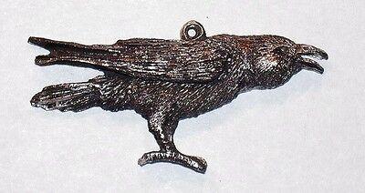 Raven pendent  { Talker }  New Hand Carved Design