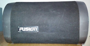 "10"" fusion sub and amp package"