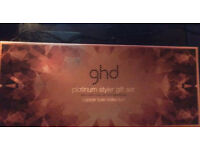 GHD Black Platinum Styler / Straightener Gift Set - Copper Luxe Collection - Brand New