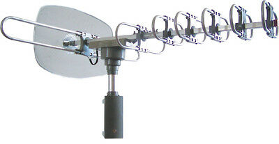 Naxa Hdtv/Atsc High Powered Amplified Motorized Outdoor Antenna