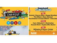 Car festv north weekend camping tickets for 2